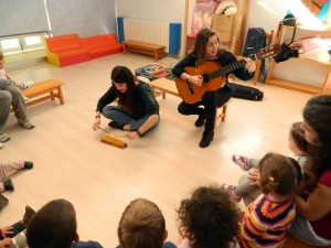 Sonall Gemma carillo i Marta guitarra